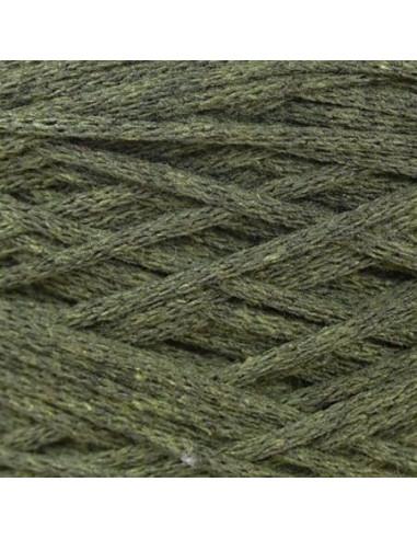 MACRAME COTTON 4 mm, vrvica, 200 gr., 83 m, vojaško zelena