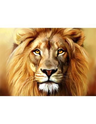 Mozaik slika, 27 X 38 cm, Simba levji kralj