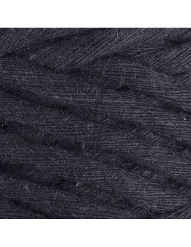 Macrame cotton Cord, 5 mm, 250 gr./50 m, oglje siva